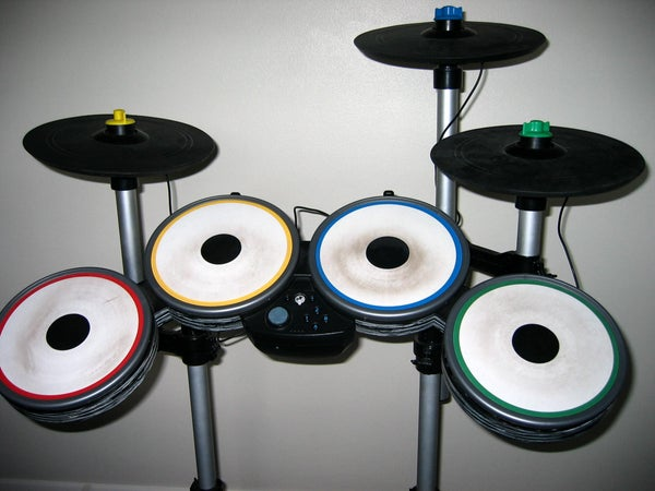 Wii Rock Band Pro Drum Kit Cymbal Repair