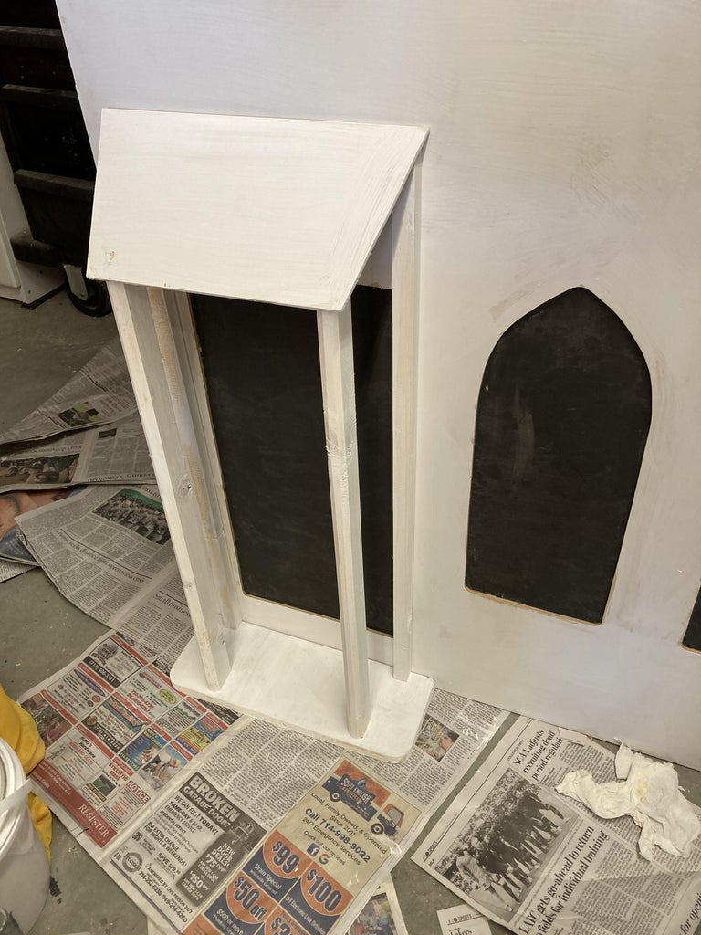 Porch, Chimney, and Trim
