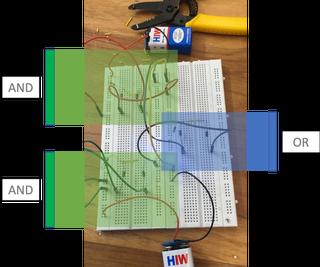 Logic Gates Using Transistors and Diodes