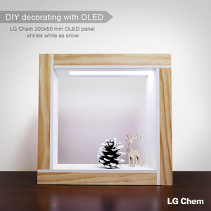 DIY Decorating With OLED Light Panel