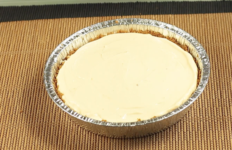 Pour the Mixture on the Crust