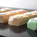 Modern Geometric Candle Holders