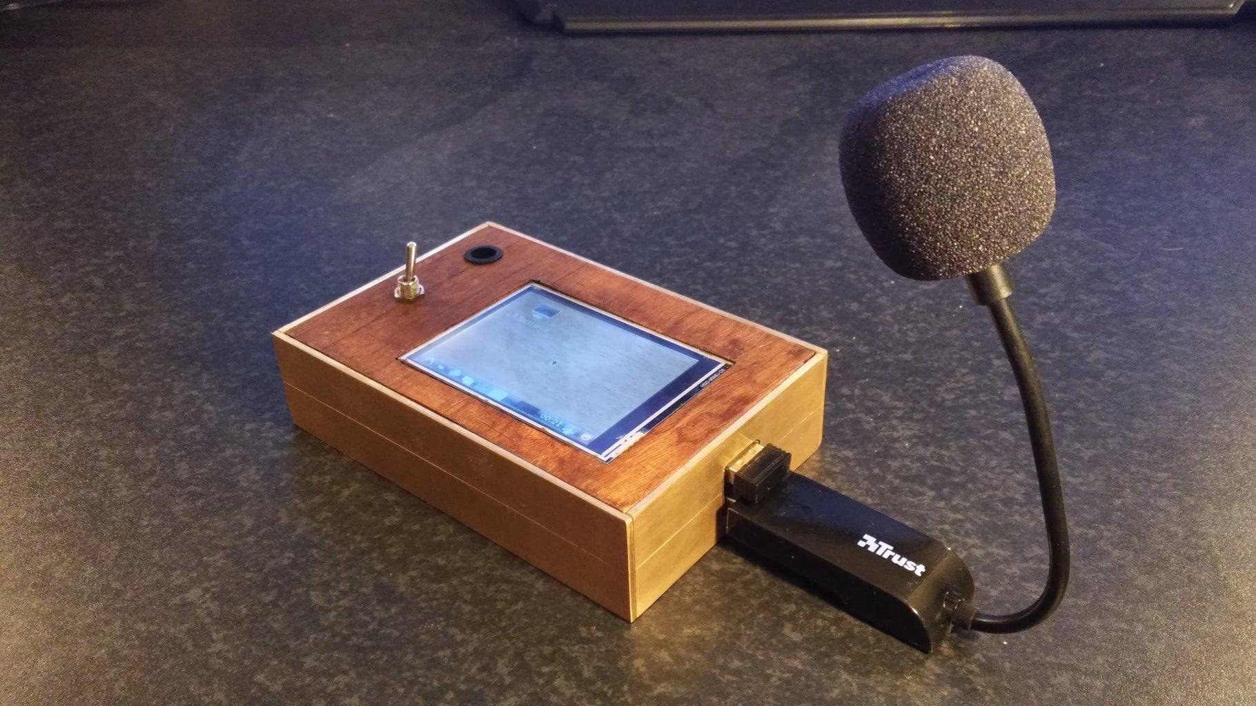 Live Radio Raspberry FM Transmitter