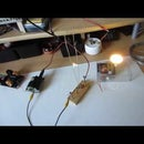 ZVS Driver : Jacobs Ladder and Flyback Powering 12v LED on Excess Power
