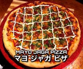 Japanese Mayo Jaga Pizza