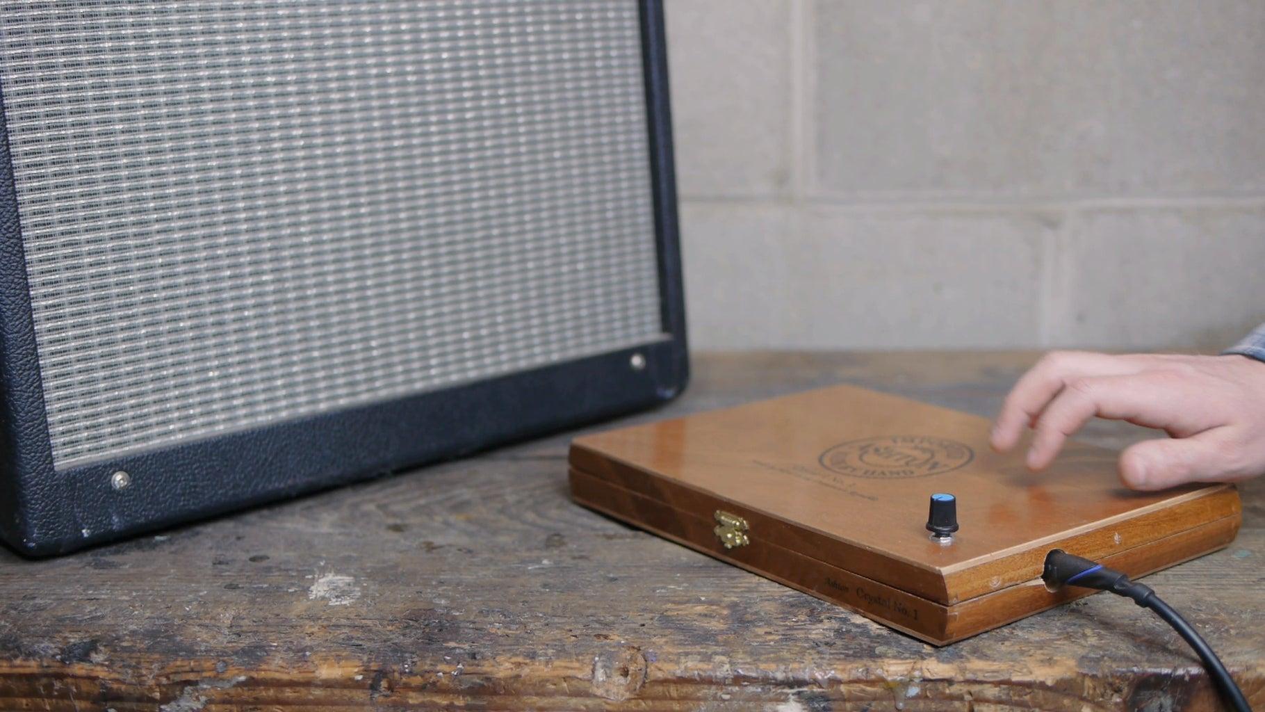 Cigar Box Stomp Box