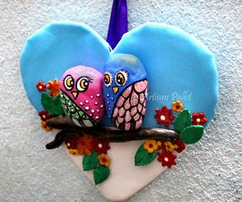 Beautiful Wall Hanging Idea With Polymer  Clay