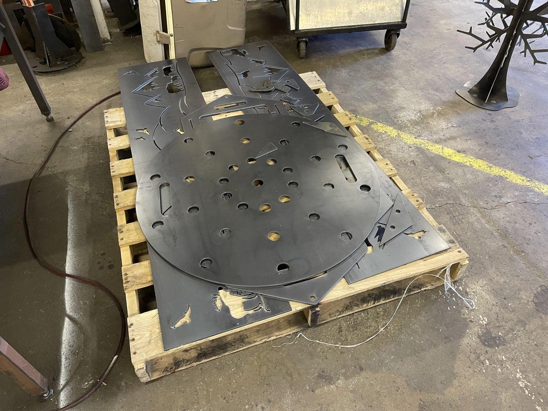 Hexagon Firepit - Cutting Parts