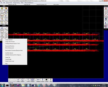 Importing Cuts Into OMAX Layout, and Scrubbing Away the Insanity