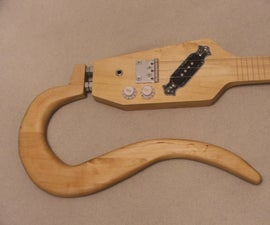 3吉他由桌子制成。#1幻灯片吉他
