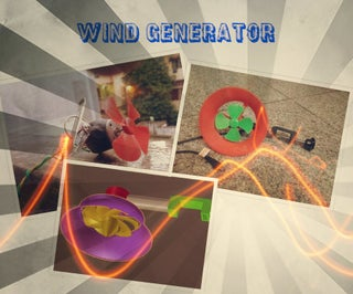 Portable Wind Generator As a Cell Phone Charger