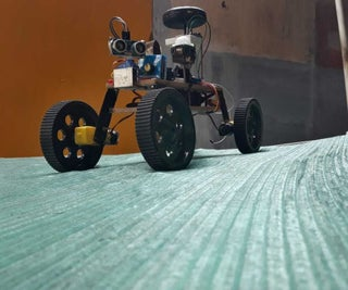 LDSR (Life Detecting Space Rover)