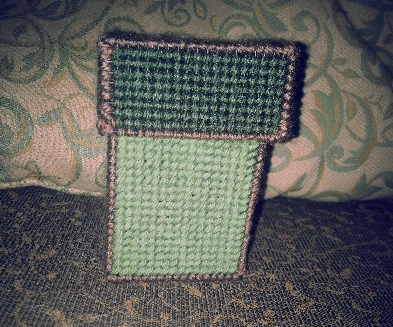 Plastic Canvas Card Deck Box