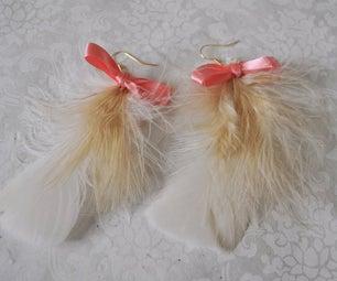 Oh La La Feather Earrings