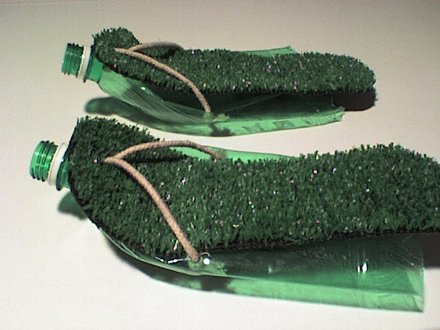 The Simple Mans Wandering Sandals from Plastic Bottles