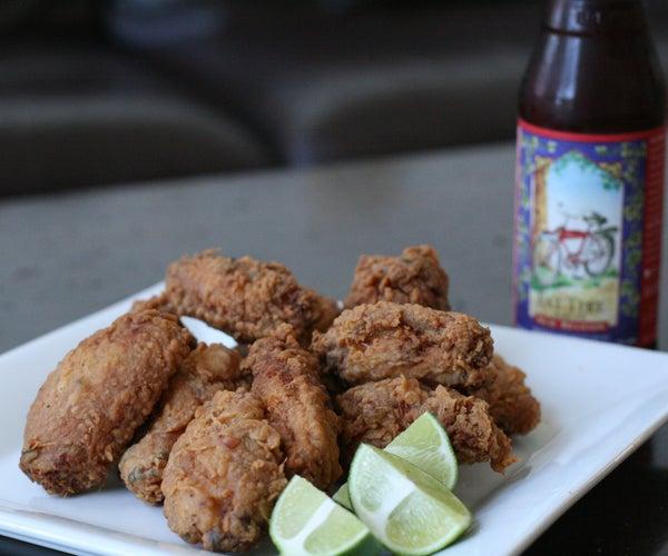 Asian Fried Chicken Wings