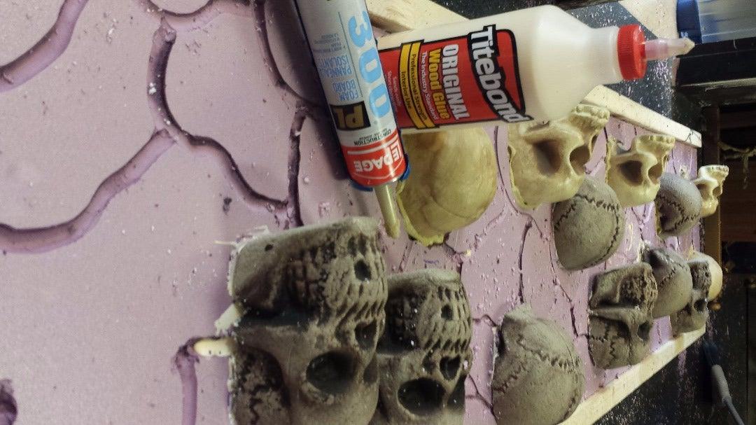 Heat Gun & Glue Your Skulls