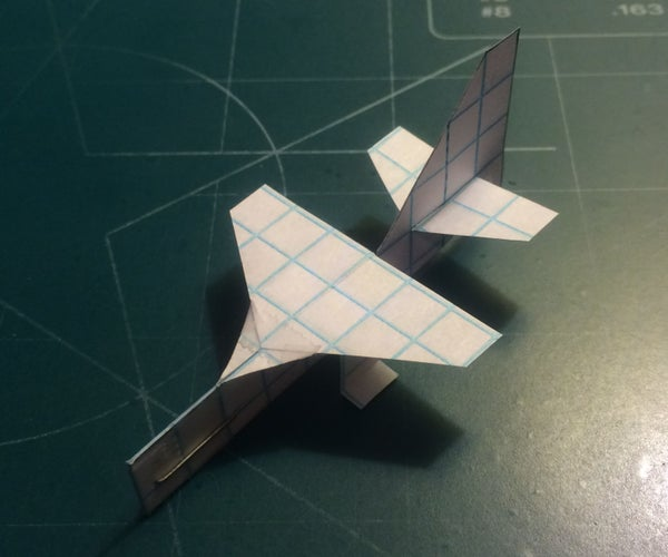 How to Make the Super StratoMite Paper Airplane