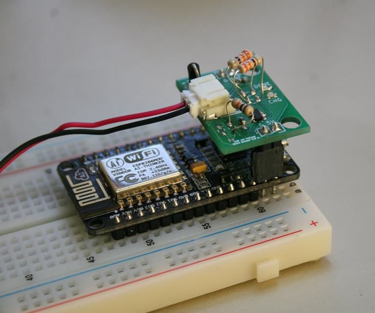 MASLOW: an Open WiFi Detector with ESP8266