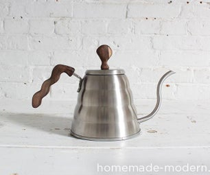 HomeMade Modern DIY Coffee Pot Upgrade