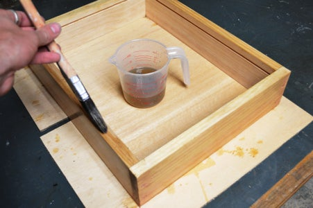 Making the Box - Aging and Staining