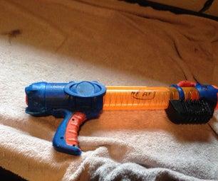 Reactor Mod + How to Paint a Nerf Gun