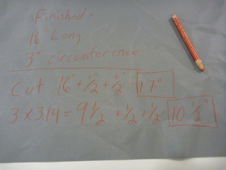 A Bit of Math Gives Us Cut Sizes