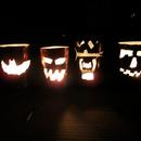 Pumpcans (Pop Can Jack-O-Lanterns)