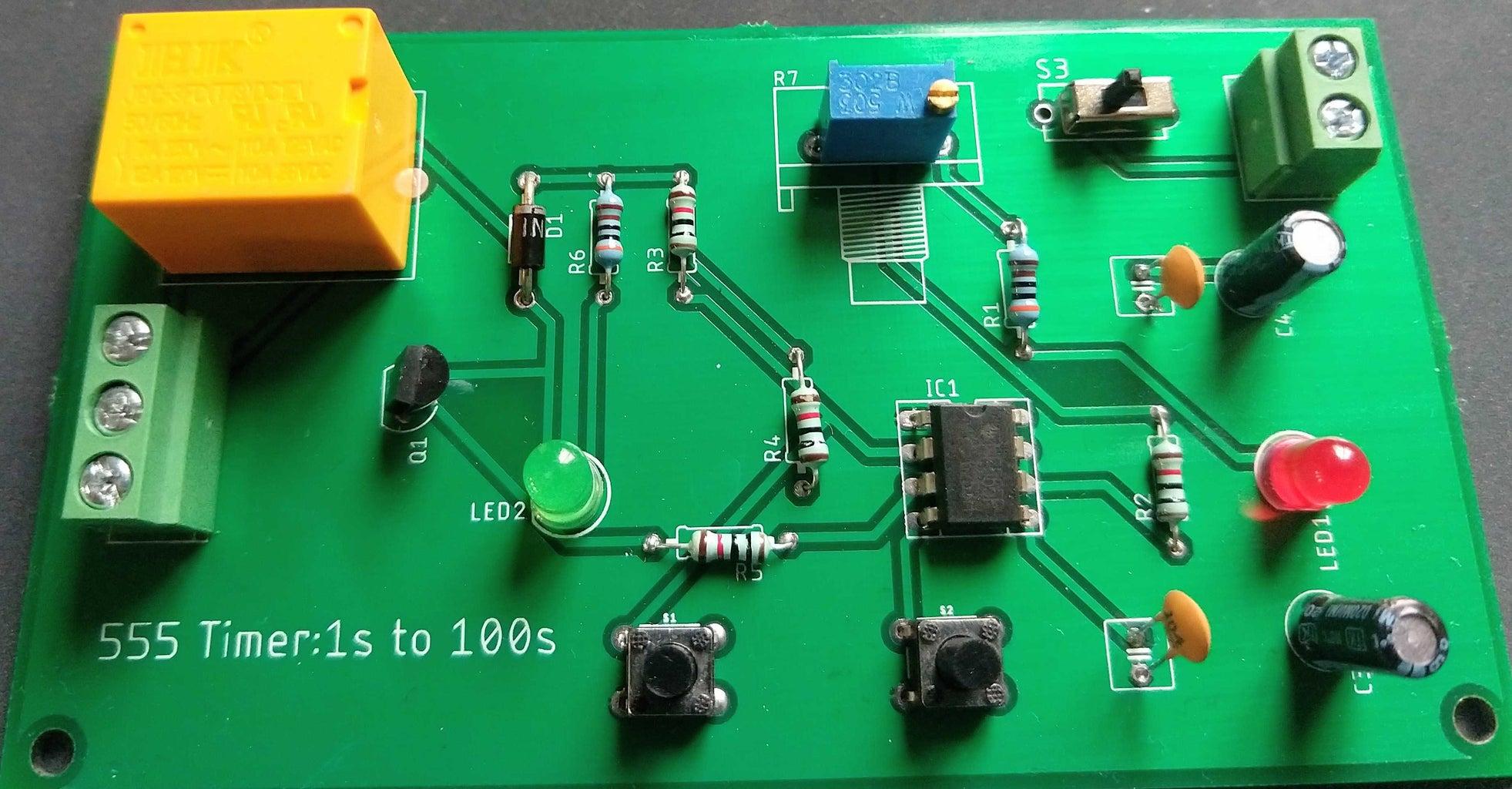 Components Assembled Board