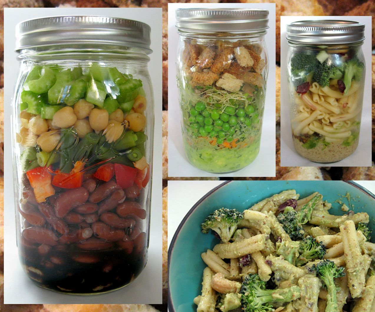 Super Salad Jars