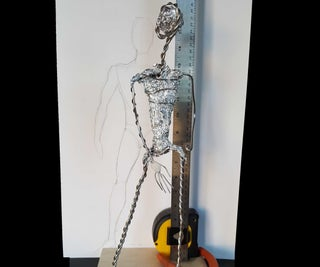 Making an Armature for a Clay Sculpture