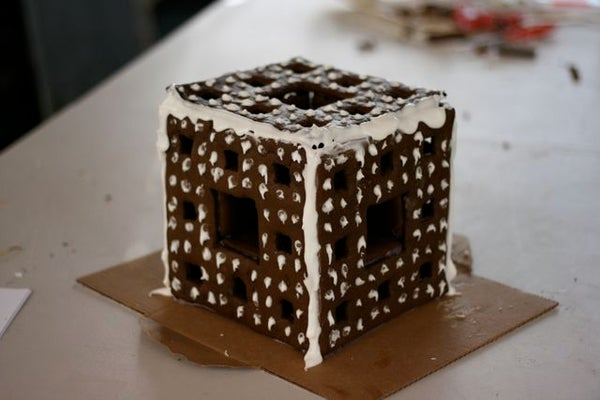 Fractal Gingerbread House