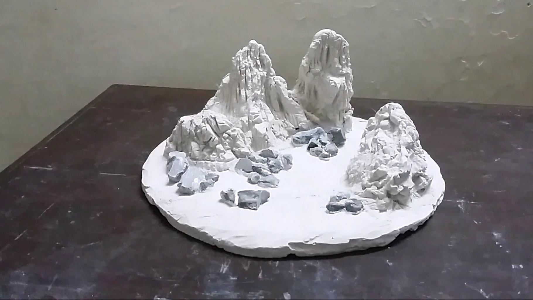 Making of Hills