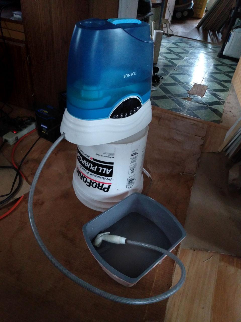 Adding the Hose and Spigot
