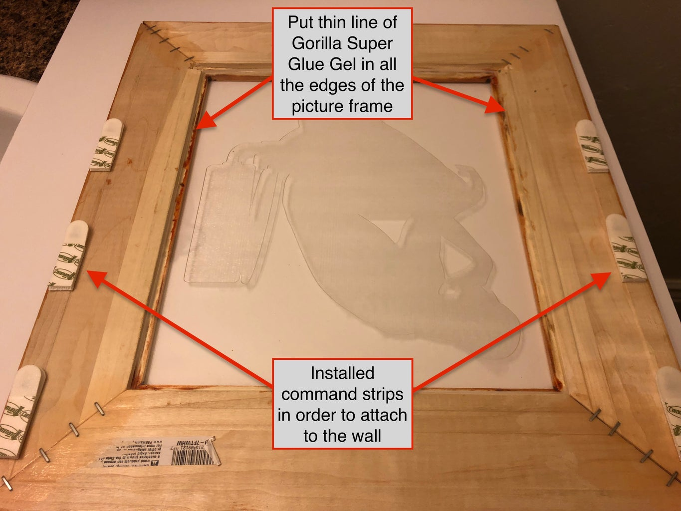 The Picture Frame: Installing the Acrylic Sheet