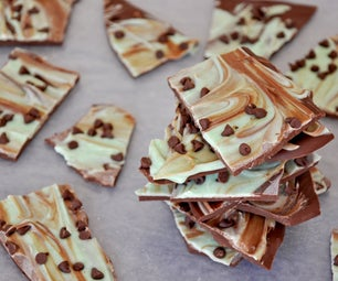 Mint Chocolate Chip Bark
