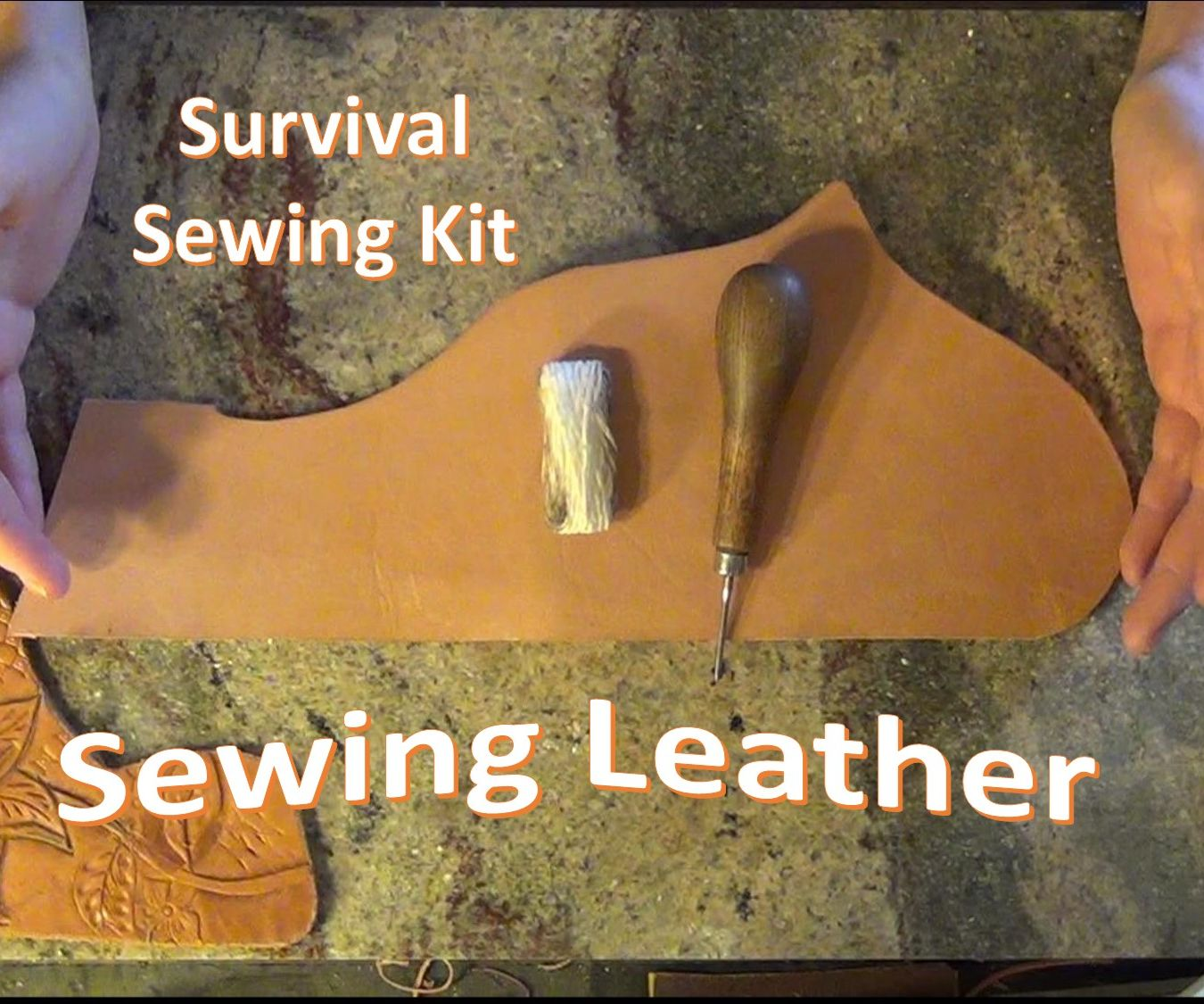 Survival Sewing Repair Tool and How To Use It!