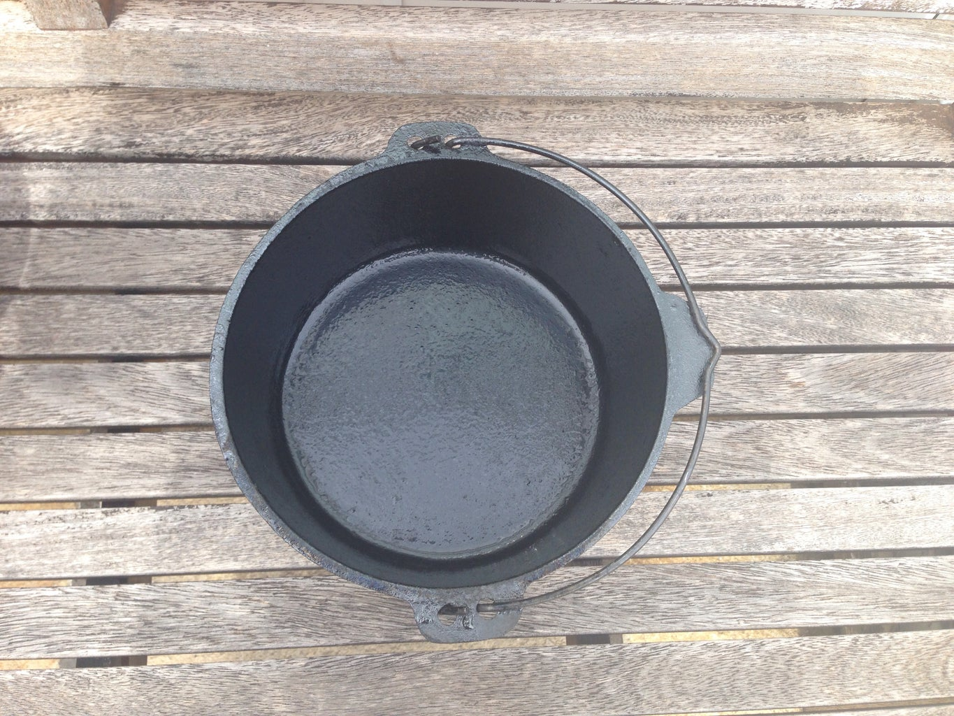 Allow the Pans to Cool and View Your Result