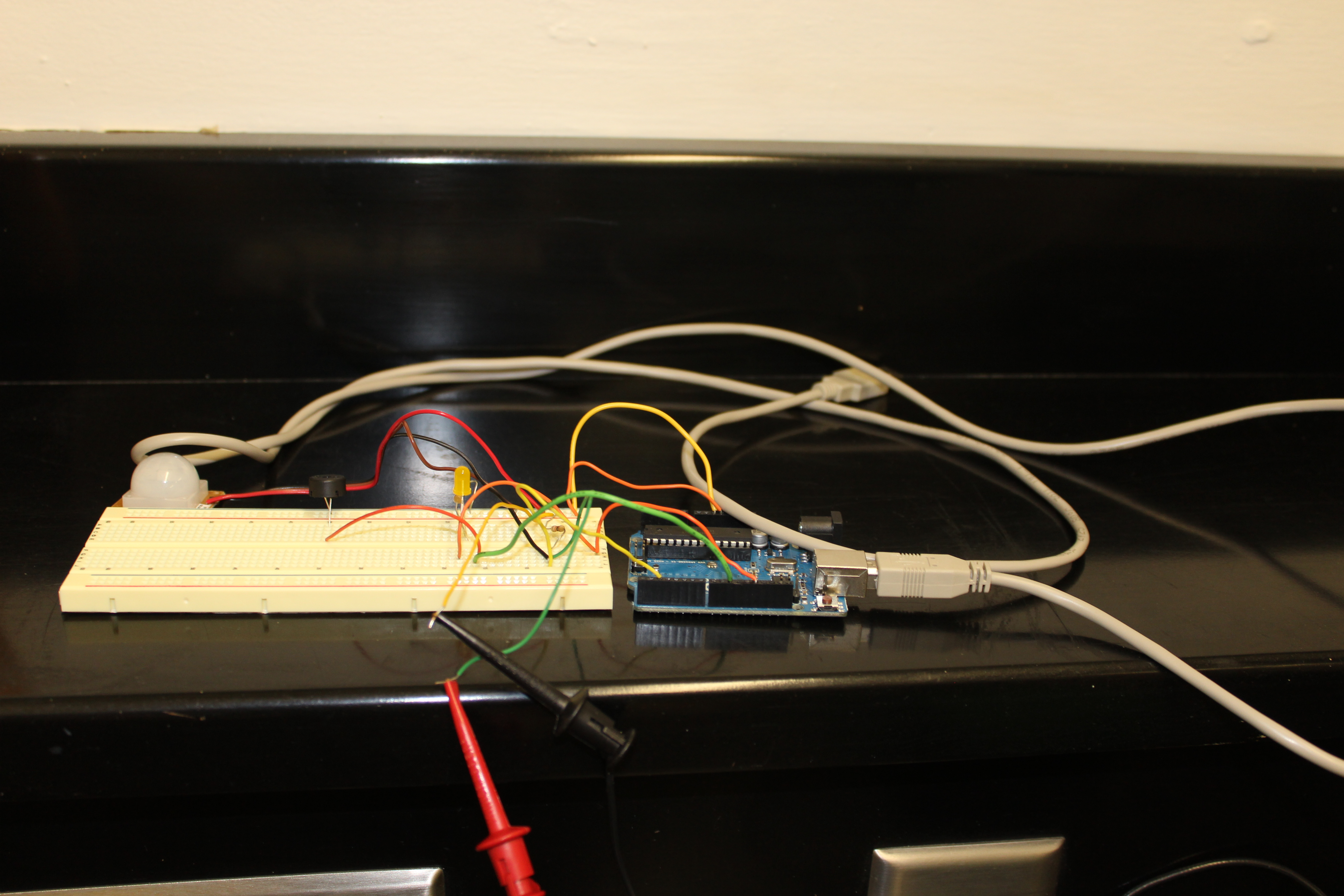 PIR Alarm Arduino Motion Sensor (with Encasing)