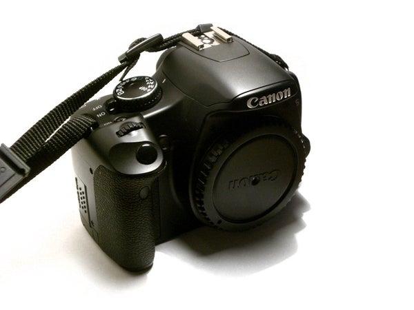 Simple Pinhole for SLR Camera