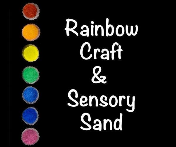 "Non-Toxic Craft and Sensory ""Sand"""