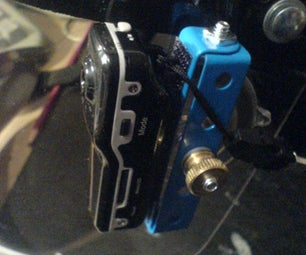 Helmet-mount for a Micro-DV Camera