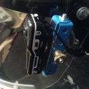 helmet-mount for a micro-DV camera