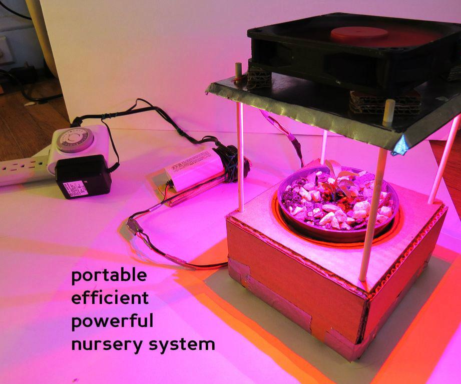 easy & cheap auto-grow system