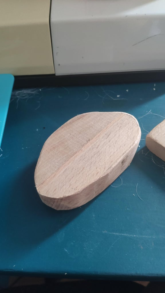 Making Brush Handle From Wood