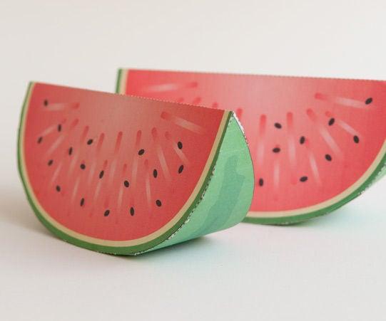 Paper Craft Watermelon