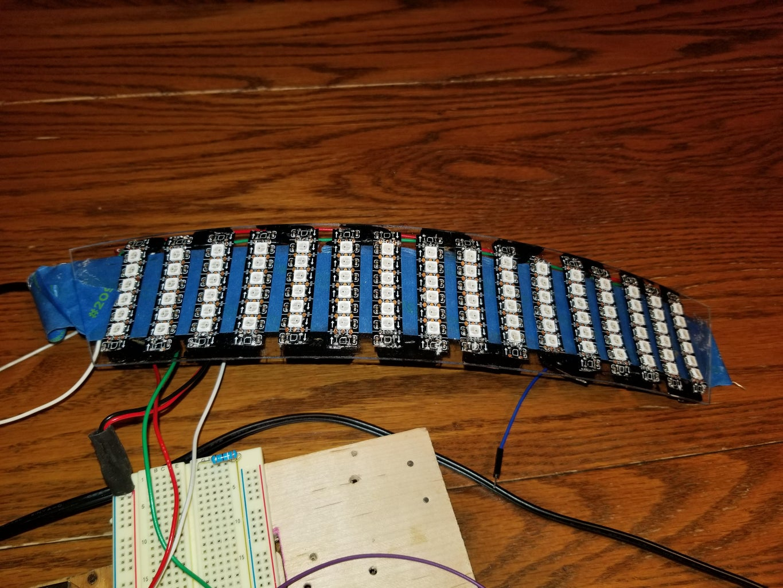 Electrical Wiring  the Main Visor