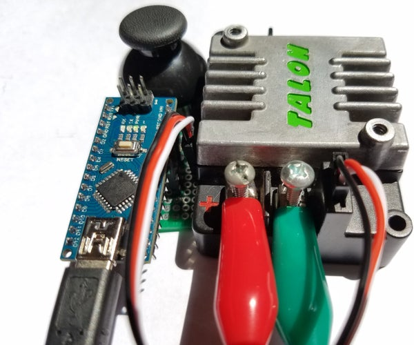 EASY VERSION: Cheap Arduino Thrifty Throttle (PWM Generator for Servos and Speed Controllers)