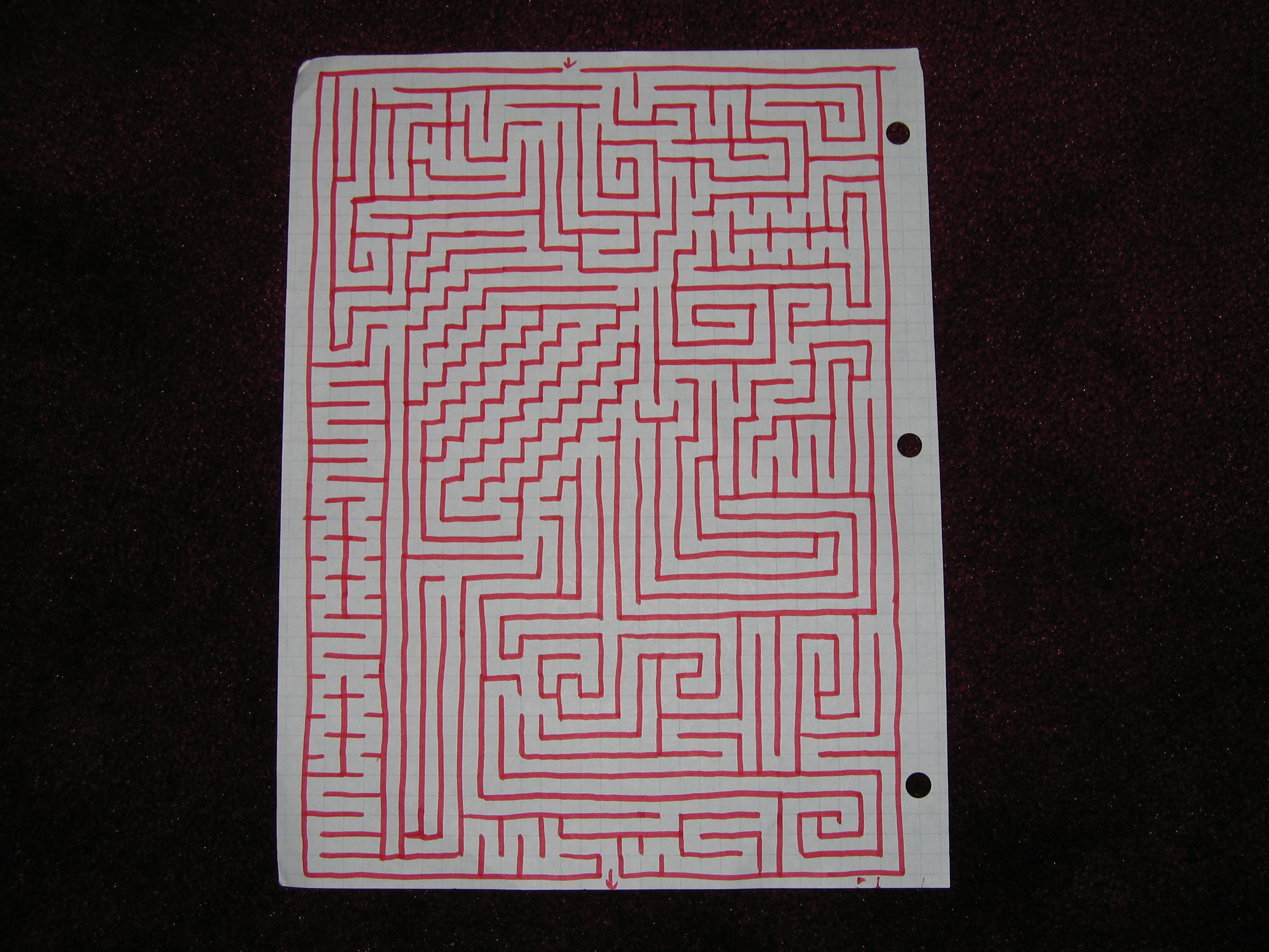 How to make mazes