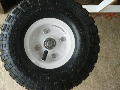 Attach the Wheels